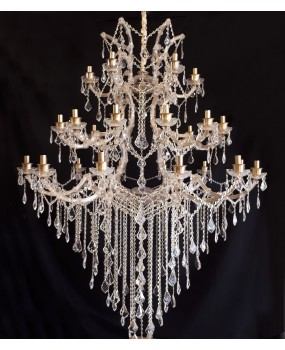 Maria Theresa 30 sockets chandelier