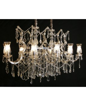 Maria Theresa 10- light chandelier