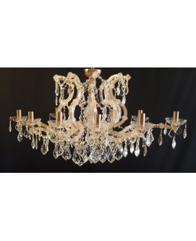 Maria Theresa 10- light oval chandelier