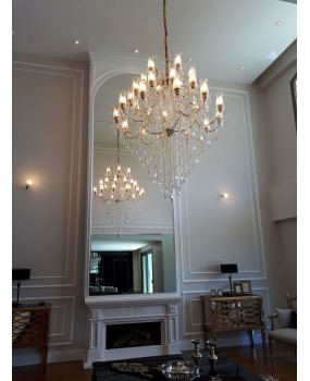Maria Theresa 30- light chandelier