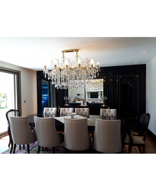 Maria Theresa Oval chandelier